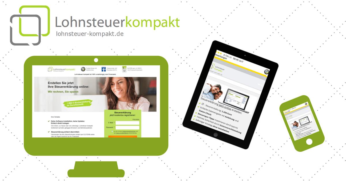Steuererklärung auf PC, Tablet und Smartphone