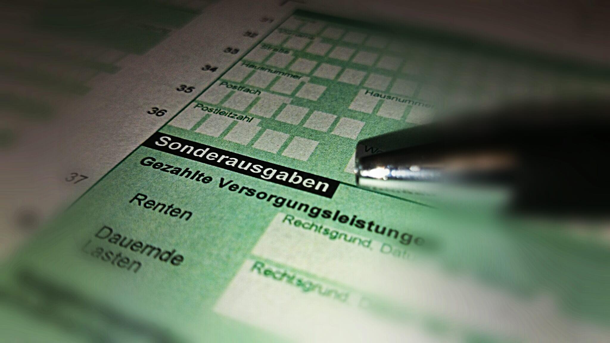 Altersvorsorge: Erhöhung des Sonderausgaben-Abzugsbetrages ab 2015