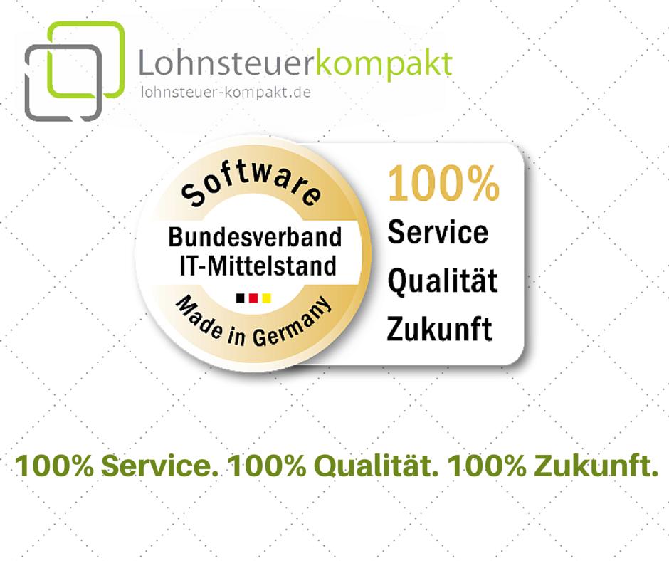"100% Service. 100% Qualität. 100% Zukunft. - ""Software Made in Germany"""