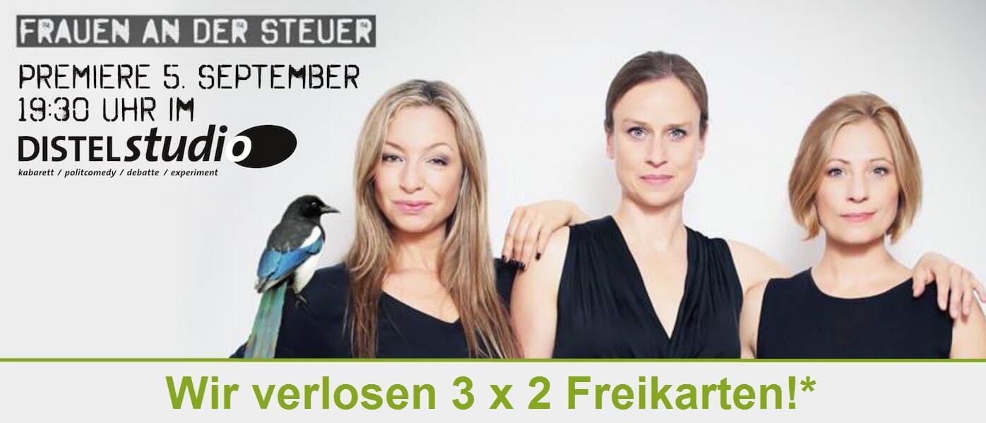 FRAUEN AN DER STEUER - Kabarett-Theater und Songs