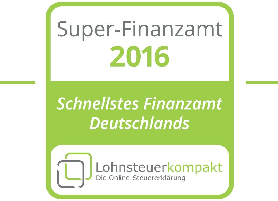 Deutschlands schnellstes Finanzamt