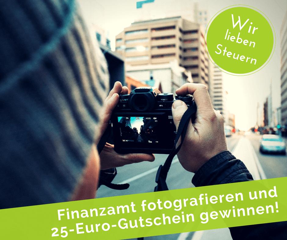 Finanzamt fotografieren und gewinnen!
