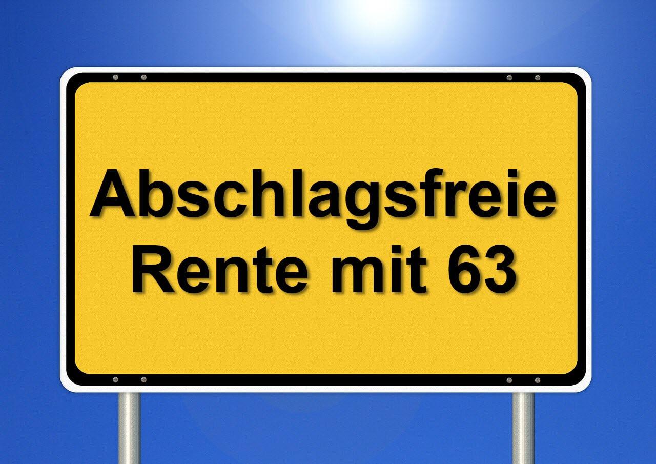 Abschlagsfreie Rente mit 63: Welche Arbeitslosenzeiten werden angerechnet ?