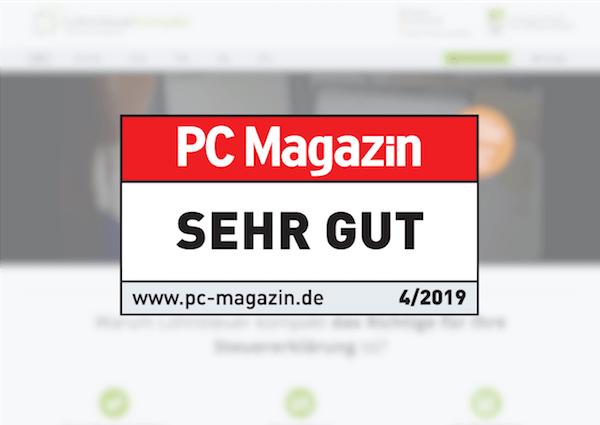 """PC-Magazin (Heft 04/2019): """"SEHR GUT"""""""