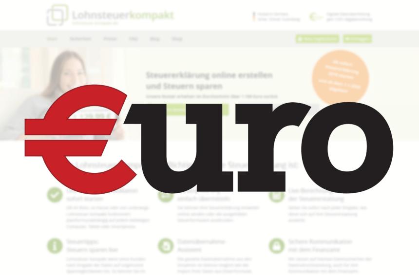 €uro - Lohnsteuer-kompakt.de mit der Note 1