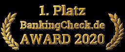 BankingCheck-Award 2020 - Siegel